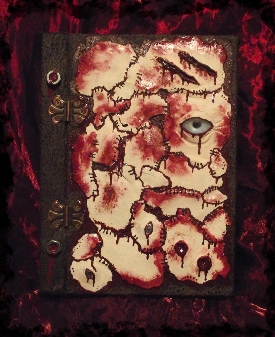 Zombie Skin Journal by dischordiasnightmare