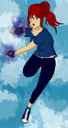 Ninjago OC Miku by angelgirl2000