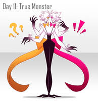 [30 Day Challenge] Day 11: True Monster by frogtax