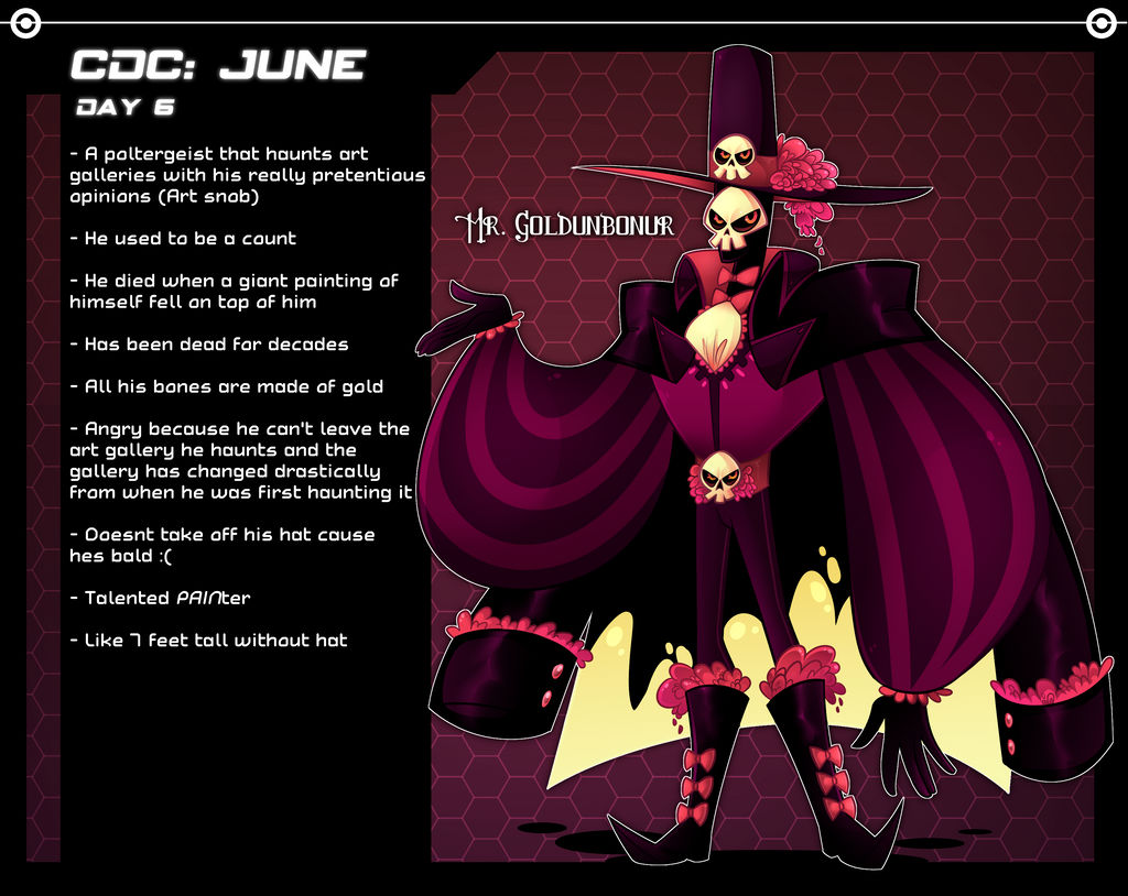 CDC: JUNE 2018 6 by frogtax on DeviantArt