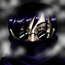 BlackScarf by MegamiJadeheart