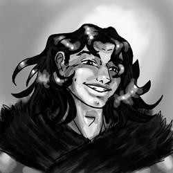 Liam grin by MegamiJadeheart