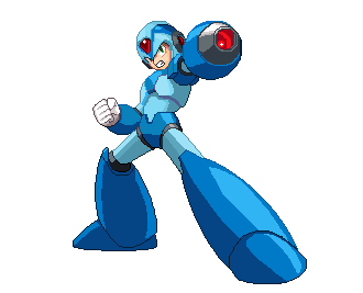 Pixel Art Megaman X by blonemon