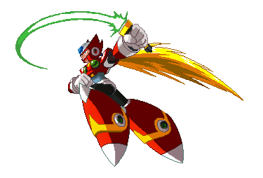 Megaman X Zero Pixel Art by blonemon