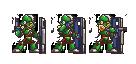 Megaman X8 Guardroid V1 by blonemon