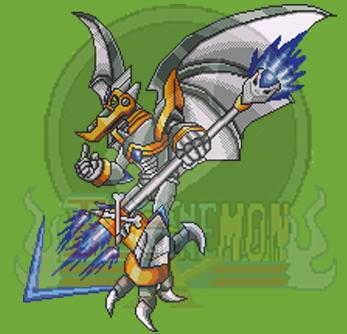 Pixel Art MMXMF Turbogale Teranodon by blonemon