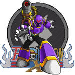 Pixel Art Megaman X Vile