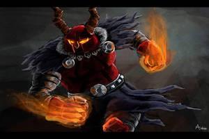 Demon Skolldir! by arkio-art
