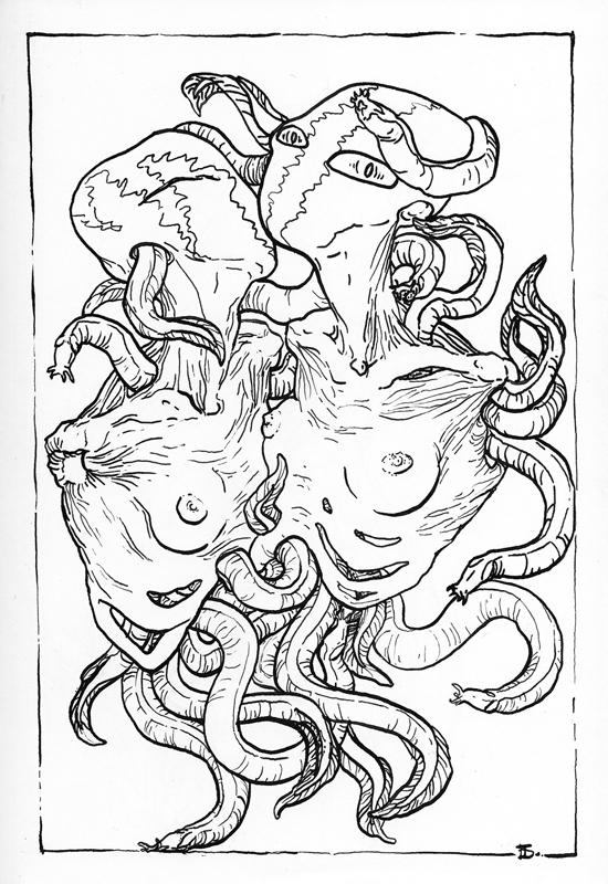 sea creature #2 by andaushi