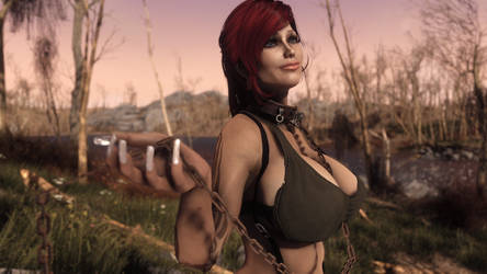 FO4 / Chained closeup by SkyrimMasterrace