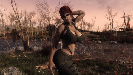 FO4 / Curves in all the right places by SkyrimMasterrace