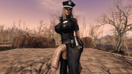 FO4 / (Futa) F*** the police :) #3 by SkyrimMasterrace