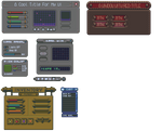Some unfinished user interfaces