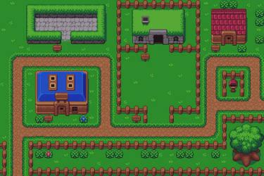 Zelda-like mockup by buch415