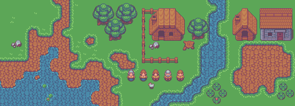 Yet another outdoor tileset by buch415