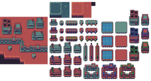 Space colony sim assets
