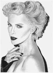 Portrait of Charlize Theron