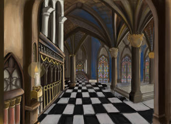 Cathedral in progress ... by mokacarbonara