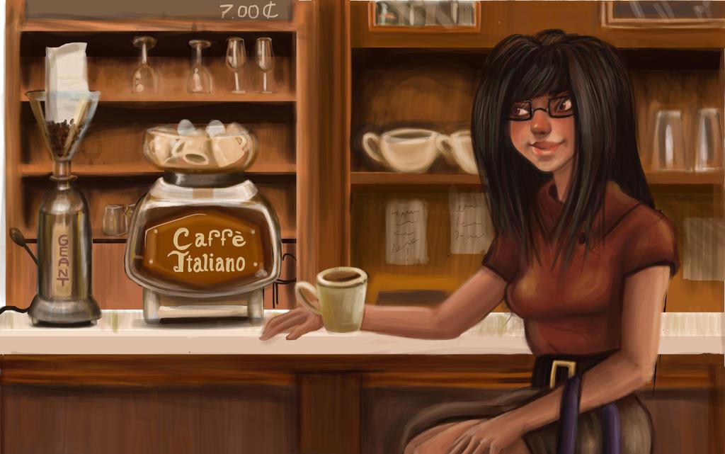 Caffe Corretto by mokacarbonara