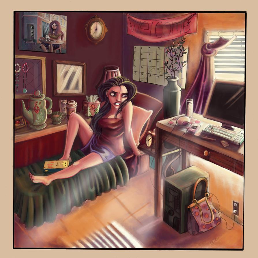 My room by mokacarbonara