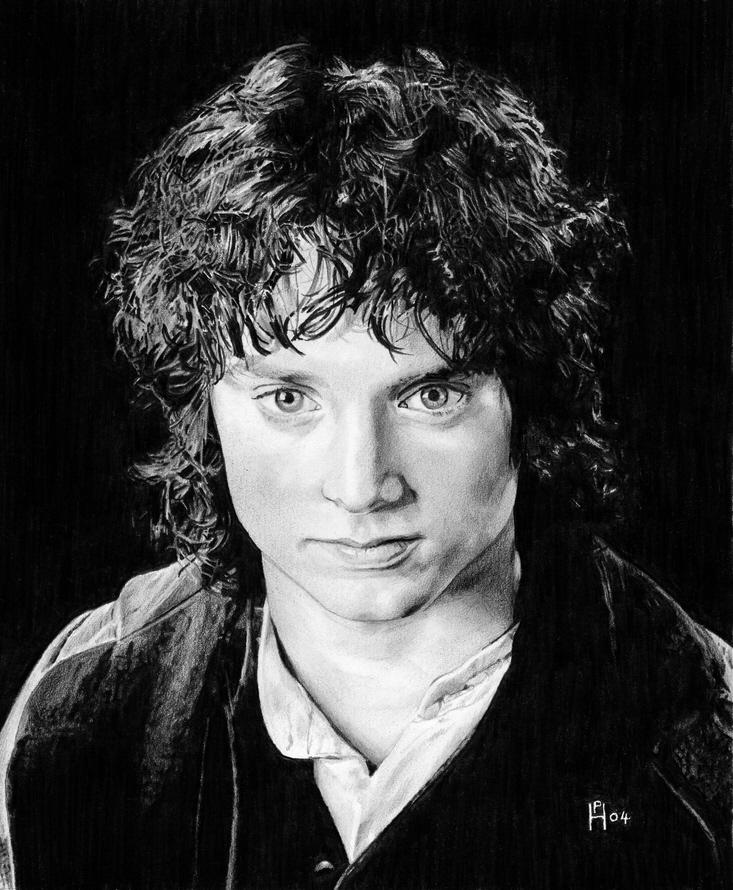 Señor de los anillos Frodo_by_DryJack