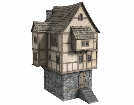 Fantasy House 4 - Freebie