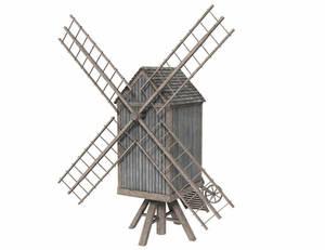 Fantasy Post mill - Freebie