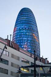 Torre Agbar by morpheu5