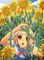 CE: Tersesat di kebun bunga by Skunkyfly
