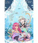 [CLOSED TYYY] Mermaid couple YCH _special edition