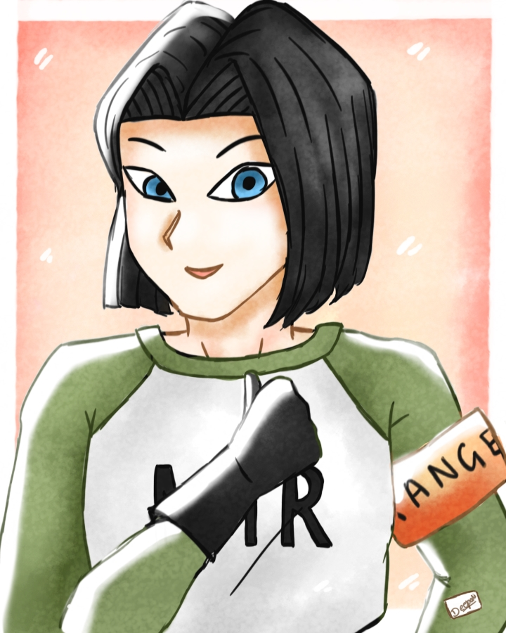 Android 17 [Dragon Ball Super] By ArtsyDeedee On DeviantArt