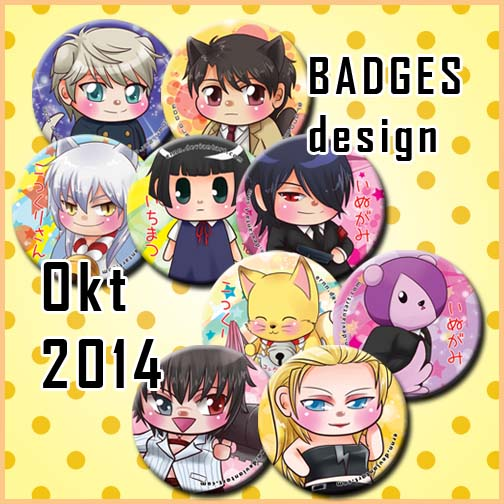 new badges Oct2014 by ernn