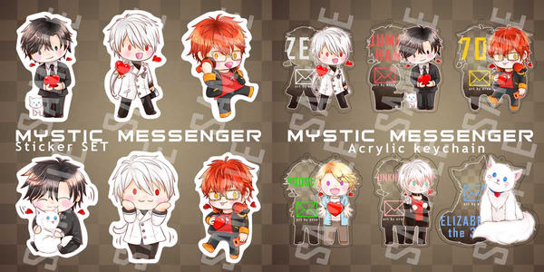Mystic Messenger chibi by ernn