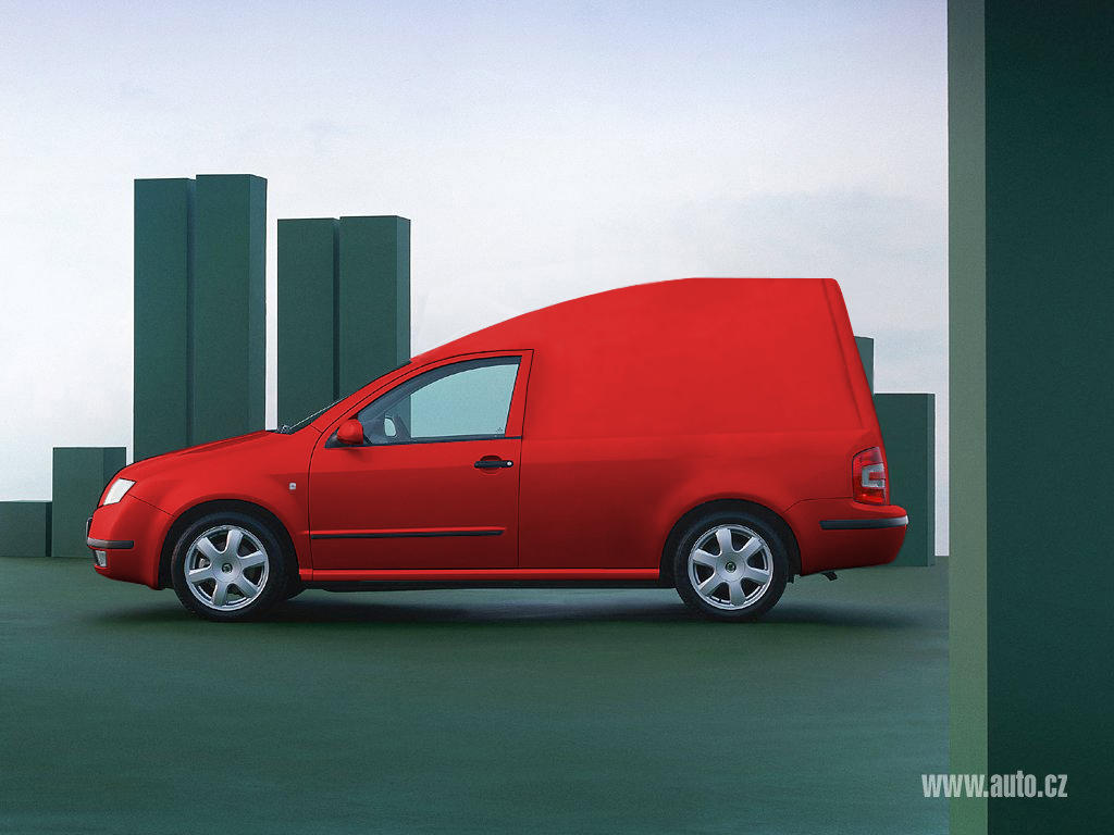 skoda fabia pick up by sodyn on deviantart. Black Bedroom Furniture Sets. Home Design Ideas