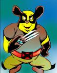 Wolverine-POOH by brianrobinson