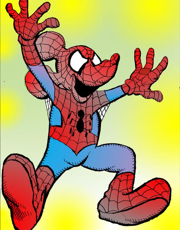 Spider-Mickey by brianrobinson