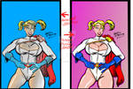 Power Girl with Pigtails PvsM