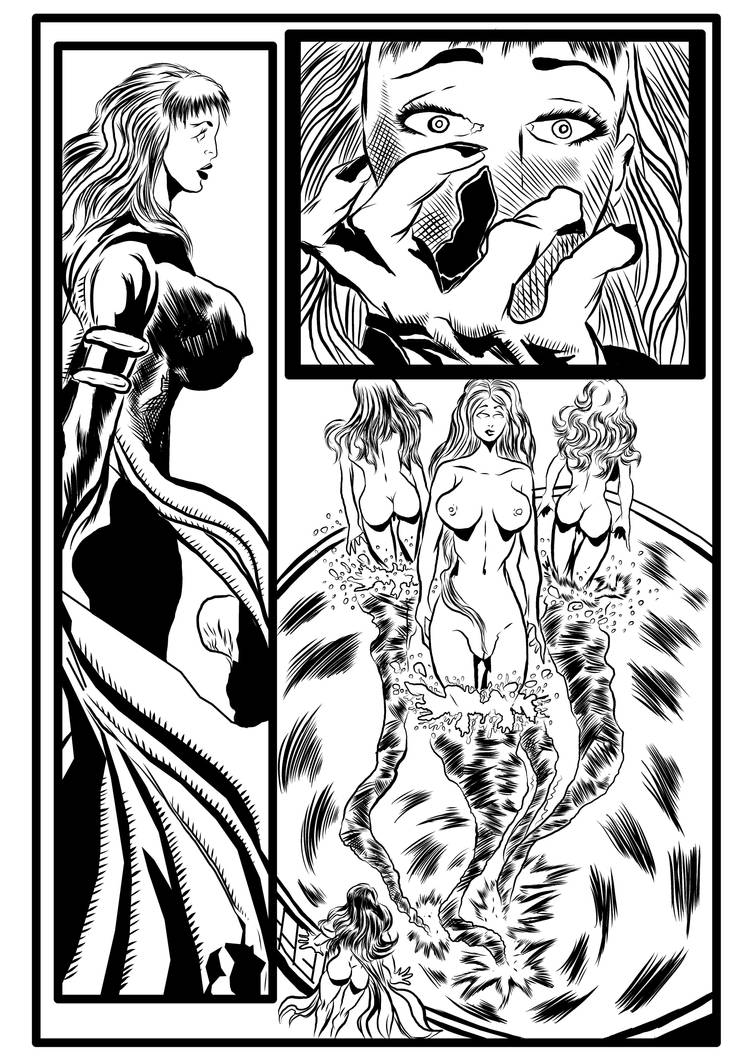 Spiralmind issue 5 Inked completed page 016 by brianrobinson