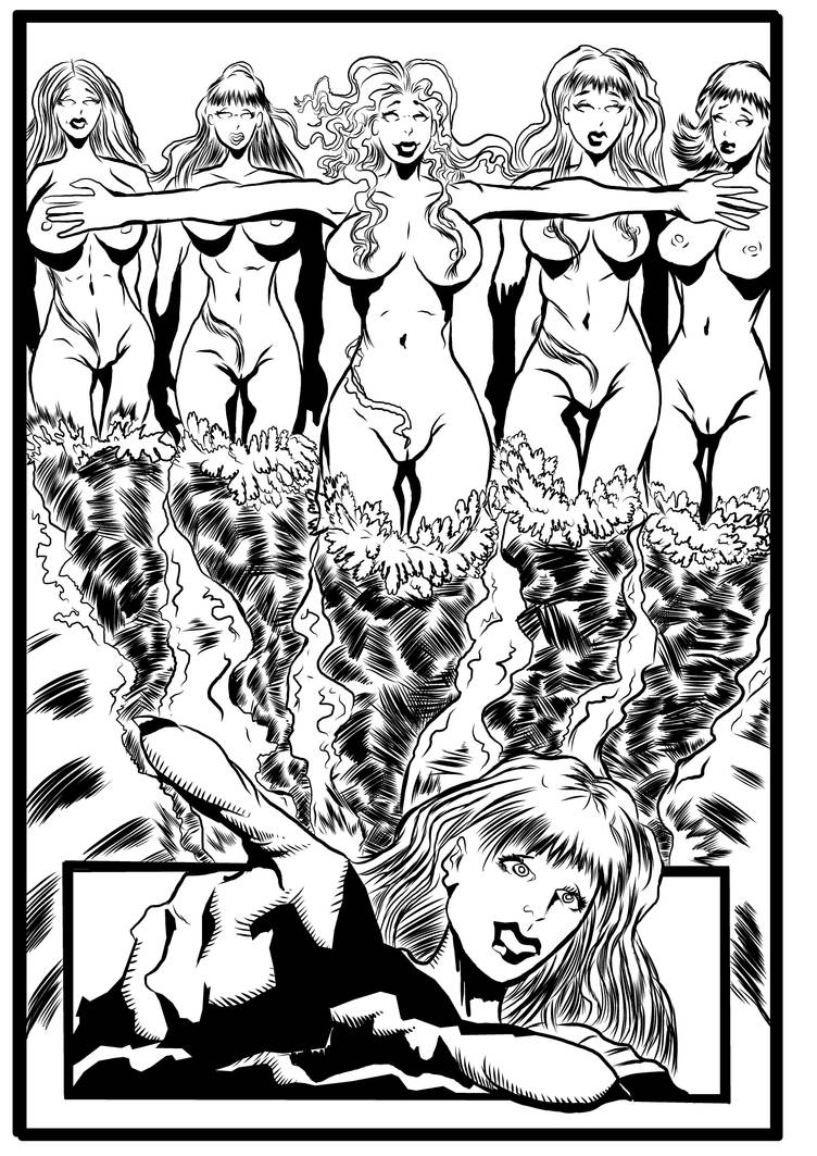 Spiralmind issue 5 Inked completed page 020 by brianrobinson