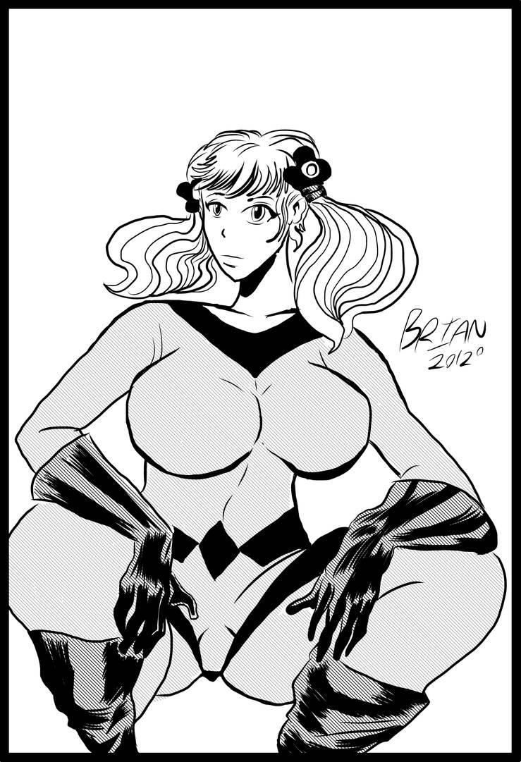Manga Crystal artwork by brianrobinson