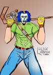 CaseyJones--drawing by Brian Robinson-colored