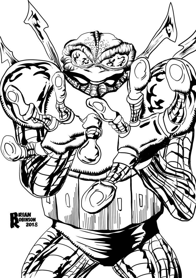 Cyberfrog fan artwork