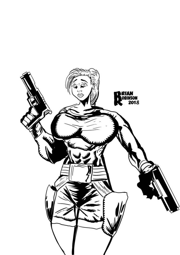 Tomb Raider 2018 by Brian Robinson