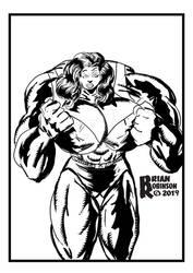 She-Hulk pinup