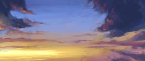 Dawn sky practice