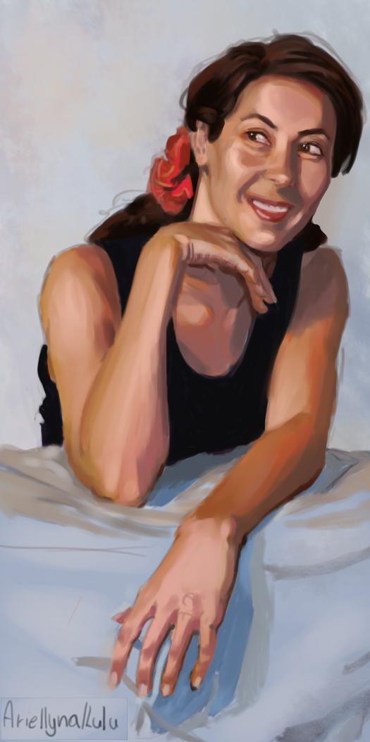 Skin study by ariellyna