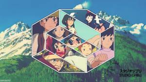 Ghibli Collage