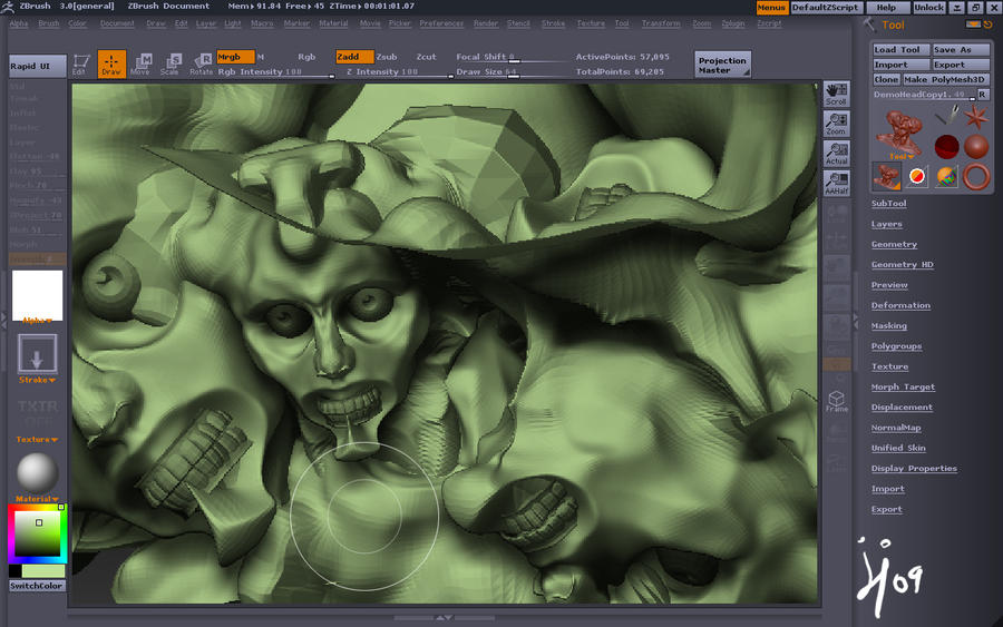 Zbrush exprience FAIL by jedilover02 on DeviantArt