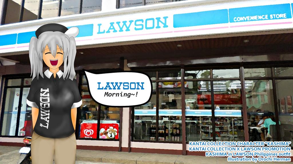 KANTAI COLLECTION X LAWSON: Kashima in Lawson PH by OHerman