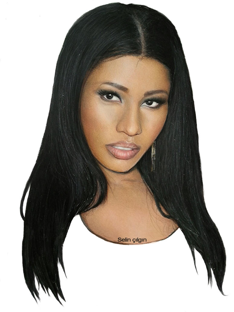 Drawing nicki minaj by selinc on deviantart drawing nicki minaj by selinc voltagebd Image collections